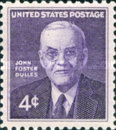 [In memorial of John Foster Dulles, type XW]