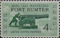 [The 100th Anniversary of the Civil War - Firing on Fort Sumter, Typ YC]