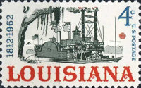 [The 150th Anniversary of Louisiana Statehood, type YV]