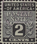 [Postal Note Stamps, Typ A1]