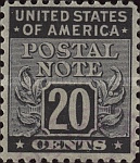 [Postal Note Stamps, Typ A10]