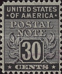 [Postal Note Stamps, Typ A11]