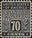 [Postal Note Stamps, Typ A15]