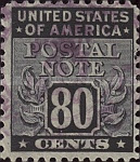 [Postal Note Stamps, Typ A16]