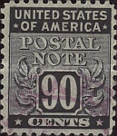 [Postal Note Stamps, Typ A17]