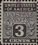 [Postal Note Stamps, Typ A2]