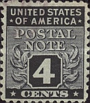 [Postal Note Stamps, Typ A3]