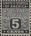 [Postal Note Stamps, Typ A4]