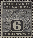 [Postal Note Stamps, Typ A5]