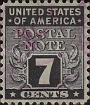 [Postal Note Stamps, Typ A6]