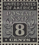 [Postal Note Stamps, Typ A7]