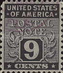 [Postal Note Stamps, Typ A8]