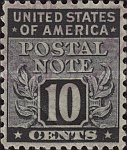 [Postal Note Stamps, Typ A9]