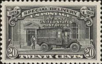 [New Value and Post Office Truck, Typ G]