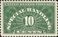 [Special Handling Stamps, Typ A]