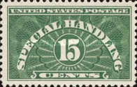 [Special Handling Stamps, Typ A1]