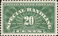 [Special Handling Stamps, Typ A2]