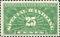 [Special Handling Stamps, Typ A4]