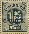[German Empire Official Stamps Overprinted