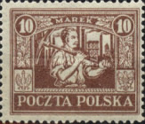 [Regular Issue for Upper Silesia, type I7]