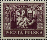 [Regular Issue for Upper Silesia, type I8]