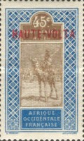 """[Upper Senegal and Niger Postage Stamps Overprinted """"HAUTE-VOLTA"""", type A11]"""