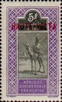 """[Upper Senegal and Niger Postage Stamps Overprinted """"HAUTE-VOLTA"""", type A16]"""