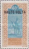 """[Upper Senegal and Niger Postage Stamps Overprinted """"HAUTE-VOLTA"""", type A35]"""