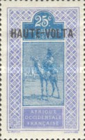 """[Upper Senegal and Niger Postage Stamps Overprinted """"HAUTE-VOLTA"""", type A7]"""