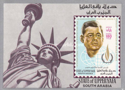 [Airmail - International Year of Human Rights (1968) and the 5th Anniversary of the Death of John F. Kennedy, 1917-1963, Typ ]