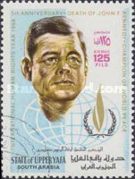 [Airmail - International Year of Human Rights (1968) and the 5th Anniversary of the Death of John F. Kennedy, 1917-1963, Typ AC2]