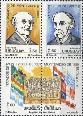 [The 100th Anniversary of the First International Juridical Congress, Montevideo, type ]