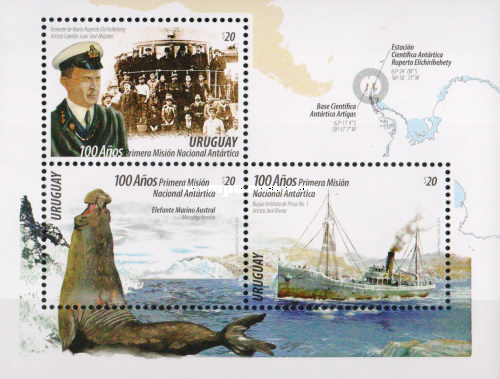 [The 100th Anniversary of the First National Antarctic Mission, type ]