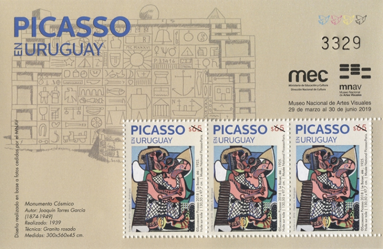 [Oaintings - Picasso in Uruguay, type ]