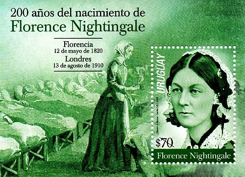 [The 200th Anniversary of the Birth of Florence Nightingale, 1820-1910, type ]