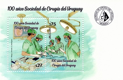 [The 100th Anniversary of Uruguayan Society of Surgery, type ]