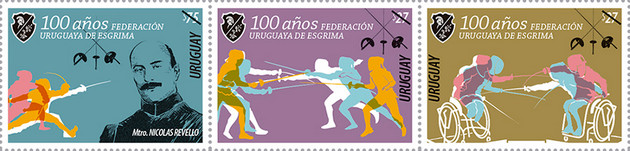 [The 100th Anniversary of Uruguayan Fencing Federation, type ]
