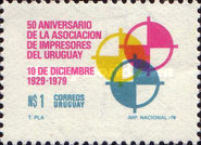[The 50th Anniversary of the Uruguayan Printers' Association, type AGX]