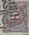 [Issue of 1884 Overprinted