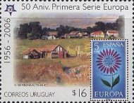 [The 50th Anniversary of the European Stamps, type CEE]