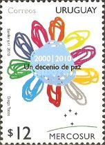 [Mercosur - International Decade for Culture and Peace, type CMM]