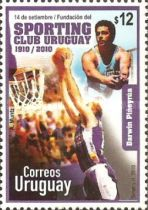 [The 100th Anniversary of the Sporting Club of Uruguay, type CMU]