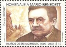 [The 90th Anniversary of the Birth of Mario Benedetti, 1920-2009, type CMY]
