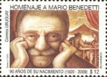 [The 90th Anniversary of the Birth of Mario Benedetti, 1920-2009, type CMZ]