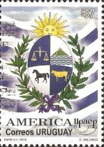 [America UPAEP - National Symbols, type CNI]