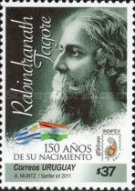 [The 150th Anniversary of the Birth of Rabindranath Tagore, 1861-1941, type COC]