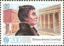 [The 200th Anniversary of the National Library of Uruguay, Montevideo, type DBC]
