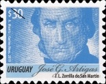 [Definitive Issue - José G. Artígas, 1764-1850, type DBD21]