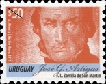 [Definitive Issue - José G. Artígas, 1764-1850, type DBD22]