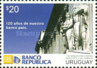 [The 120th Anniversary of the BROU - Largets Bank in Uruguay, type DCK]